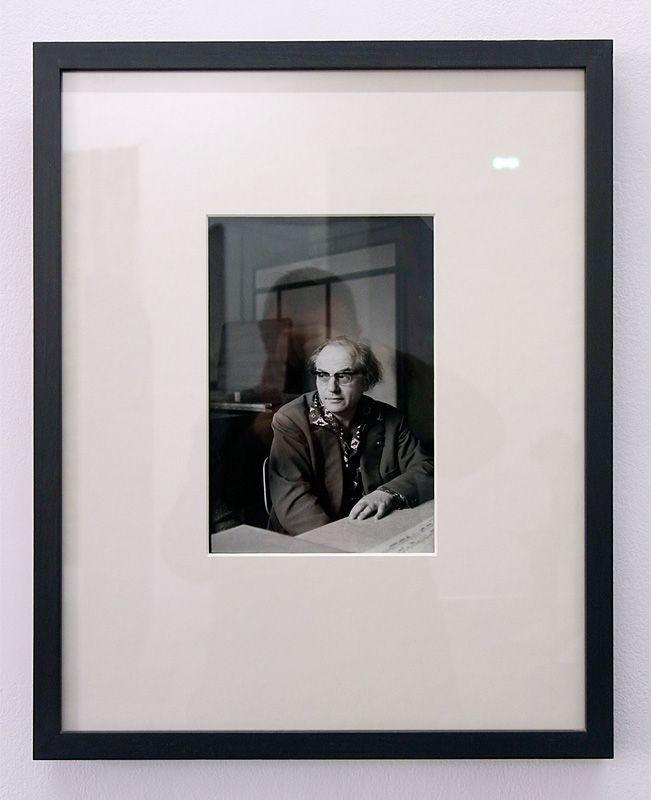 Henri Cartier Bresso, Olivier Messiean, vers 1975 - J'♥ Avignon à la Collection Lambert