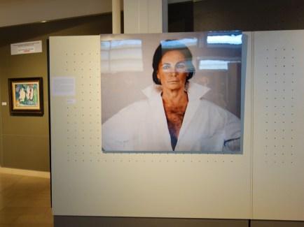 Sa Muse… au Musée Regards de Provence - Vue de l'exposition. Michèle Sylvander, Tant pis pour nous, 1995