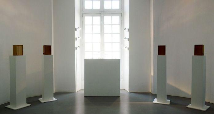 Pierre-Marie Agin, Un vitrail et des oiseaux pour Messiaen, 2008 - J'♥ Avignon à la Collection Lambert