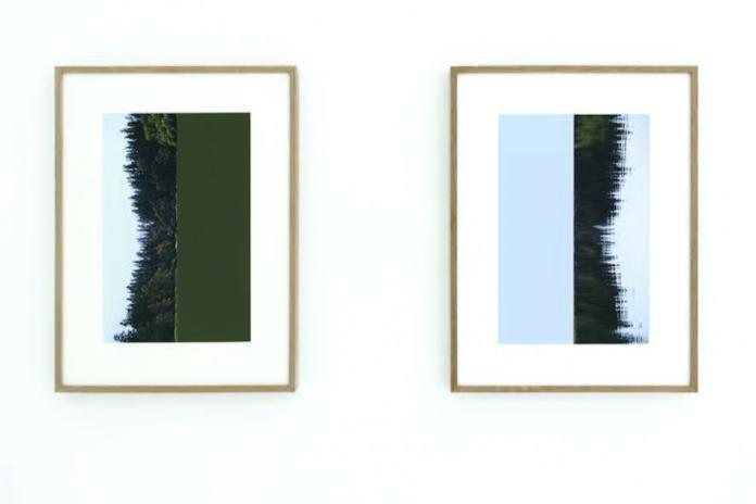 Stéphanie Majoral, Étendue 1, 2018 – In between à Iconoscope. Diptyque, tirages pigmentaire sur Hahnemule photo Rag 308 G, 23 x 35 cm