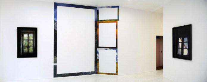 Stéphanie Majoral, vue de l'exposition Slow Glass, Iconoscope, Montpellier, 2014