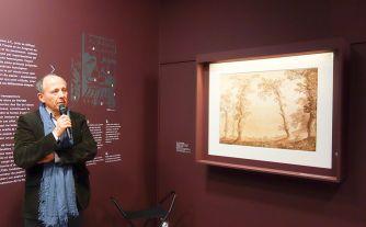 Dans le Secret des œuvres d'art au Musée Fabre - Une restauration sauvetage avec deux dessins de Jacob Philipp Hackert - Michel Hilaire