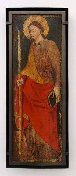 Anonyme, Bologne, Saint-Jacques, vers 1430-1435 - Djamel Tatah à le Collection Lambert -vue de l'exposition salle 1