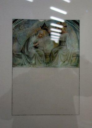 Brice Marden, Homage to Art n° 5, 1973 - Djamel Tatah à la Collection Lambert - vue de l'exposition salle 3