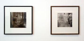 Christian Milovanoff, Hubert Robert, La Maison Carrée à Nîmes, 1985 et La Vénus de Bîmes, 1987