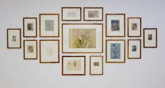 Dessins du Cabinet de dessins de l'Ecole des Beaux-Arts de Paris - Djamel Tatah à la Collection Lambert - Vue de l'exposition, salle 9