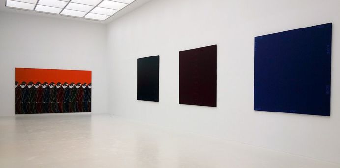 Djamel Tatah à la Collection Lambert - Vue de l'exposition, salle 5