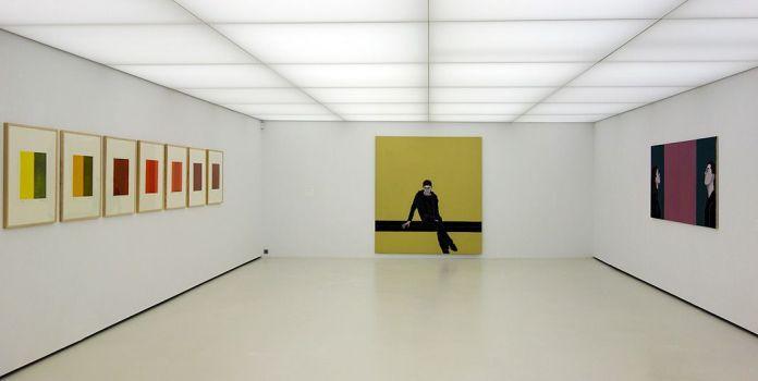 Djamel Tatah à la Collection Lambert - Vue de l'exposition, salle 7