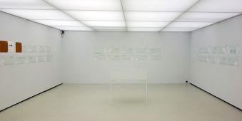 Djamel Tatah à la Collection Lambert - Vue de l'exposition, salle 8