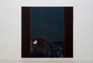 Djamel Tatah, Sans titre, 2016 - Collection Lambert - Vue de l'exposition, salle 2