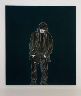 Djamel Tatah, Sans titre, 2016 - Collection Lambert - Vue de l'exposition, salle 5