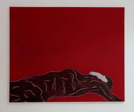 Djamel Tatah, Sans titre, 2016 - Collection Lambert - Vue de l'exposition, salle 7