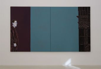 Djamel Tatah, Sans titre, 2017 - Collection Lambert - vue de l'exposition salle 3
