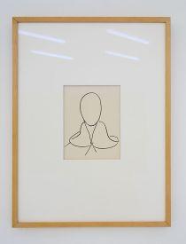 Henri Matisse, Saint Dominique, 1950-1951 - Djamel Tatah à la Collection Lambert - Vue de l'exposition, salle 6