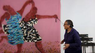 Lubaina Himid, Freedom and Change, 1984 - Gifts to Kings - MRAC 2018