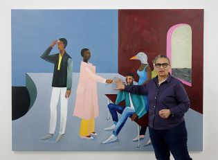 Lubaina Himid, Le Rodeur, 2016 - Gifts to Kings - MRAC 2018