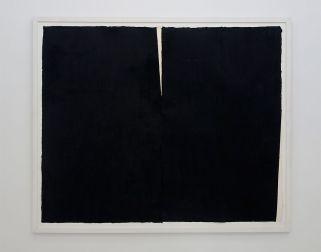Richard Serra, Japico II, 1990 - Djamel Tatah à la Collection Lambert - Vue de l'exposition, salle 2