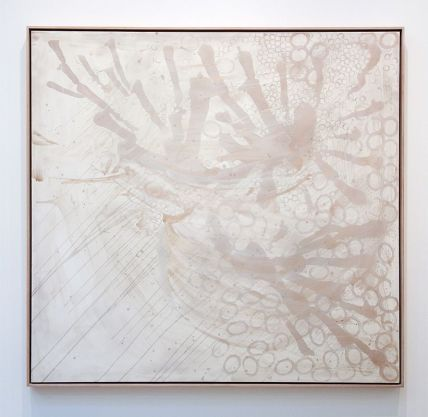 Sigmar Polke, Untitled, 1990 - Soleil Chaud, soleil tardif à la Fondation Vincent van Gogh Arles