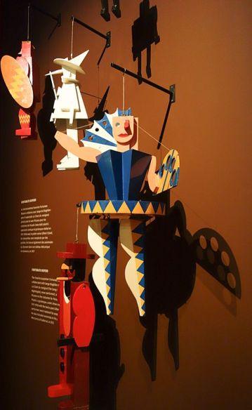 Fortunato Depero, marionettes - Picasso et les Ballets russes, entre Italie et Espagne au Mucem