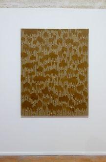 Kim Tschang-Yeul - L'Événement de la nuit à la chapelle du Méjan – Arles -Vue de l'exposition, niveau 0 - première chapelle à droite