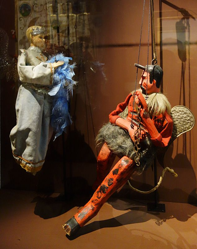 Marionnettes ;:l'ange et le diable, Palerme, 1980-1989 - Picasso et les Ballets russes, entre Italie et Espagne au Mucem