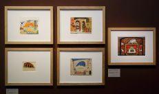 Scénographie - Vue de l'exposition Picasso et les Ballets russes, entre Italie et Espagne au Mucem