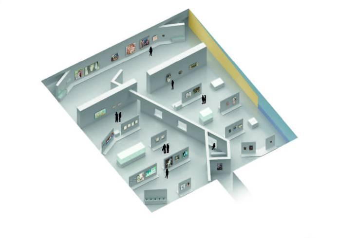 Scénographie-Projet 3D de Joris Lipsch et Floriane Pic
