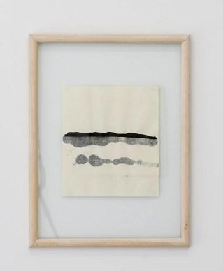 Toni Grand, format peinture, 1970-71, papier Ingres, 69,5 x 52,5 x 2,5 cm © David Huguenin