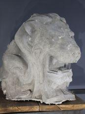 Ugo Schiavi - Tête de lion, 2018 - «Rudus, Ruderis» à la Double V Gallery – Marseille Photo © Jean-Christophe Lett