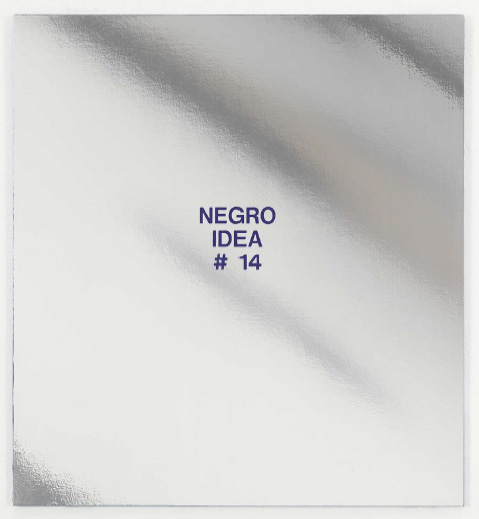 William Pope L., Negro Idea #14, 2014
