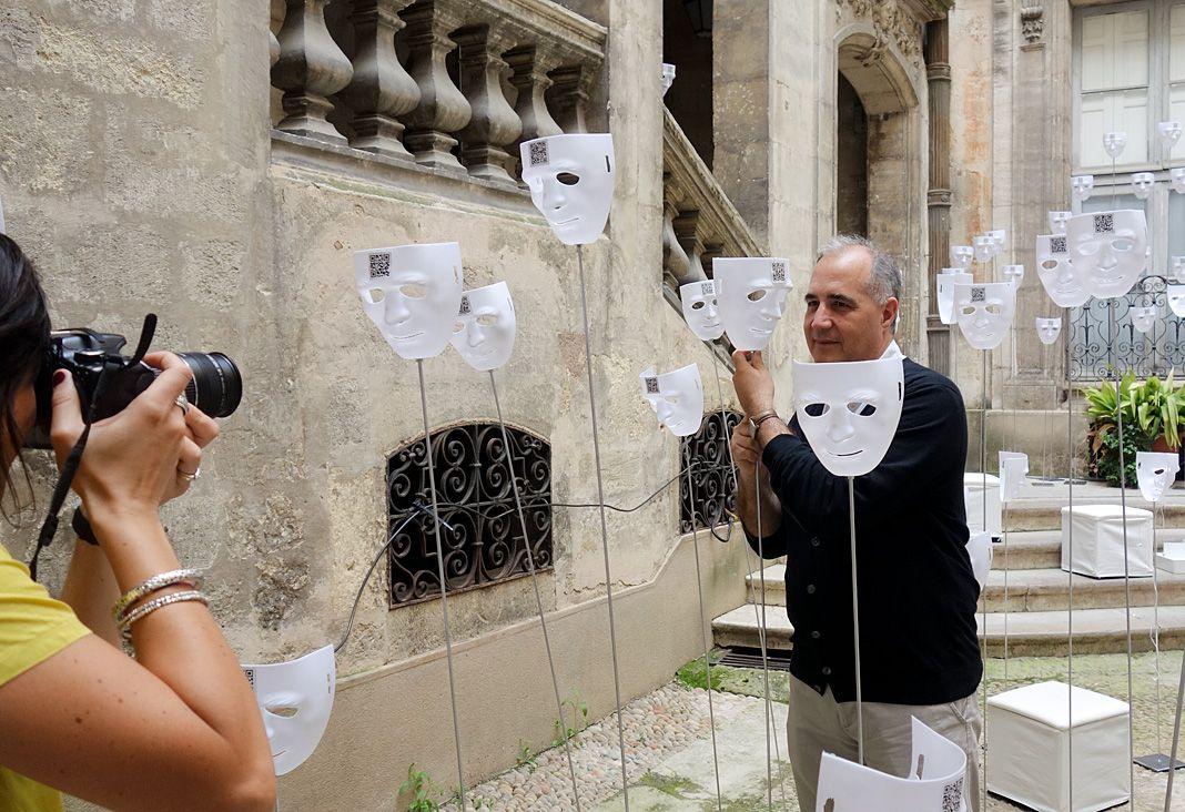 École Technique Supérieure d'Architecture de l'Université de Gênes Inter/Faces - FAV 2018 - Hôtel des Trésoriers de la Bourse