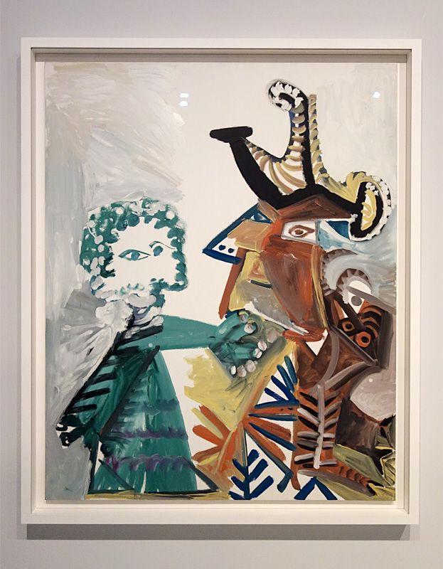 Pablo Picasso, Mousquetaire et enfant, Mougins, 23 mai 1972 - Picasso - Donner à voir au Musée Fabre