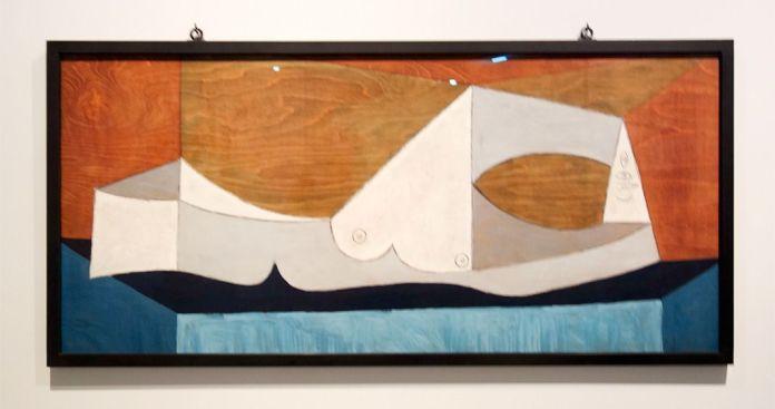 Pablo Picasso, Nu couché au lit bleu, 13 novembre 1946 - Picasso - Donner à voir au Musée Fabre