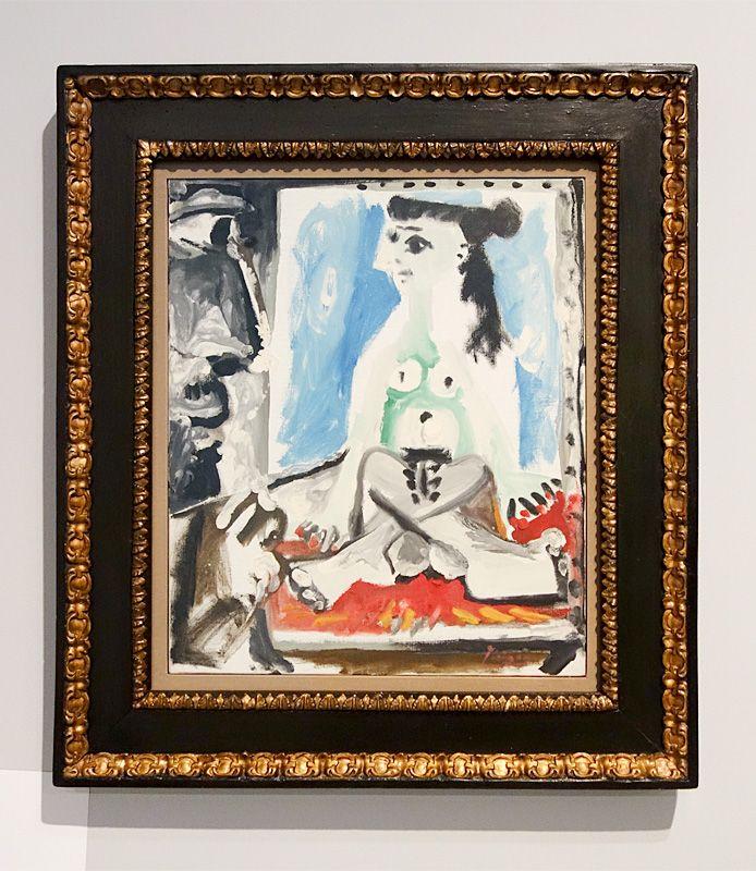 Pablo Picasso, Peintre au travail, Novembre 1964 - Picasso - Donner à voir au Musée Fabre