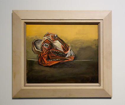 Pablo Picasso, Tête de mouton écorchée, Royan, 4 octobre 1939 - Picasso - Donner à voir au Musée Fabre