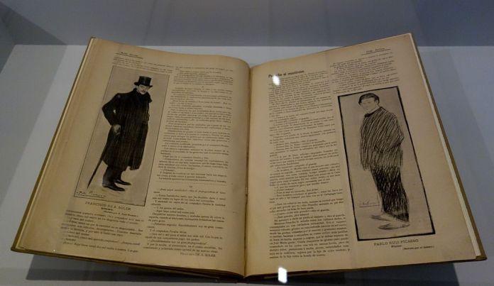 Revue Arte Joven, no 4, Madrid, 1er juin 1901 - Picasso - Donner à voir au Musée Fabre