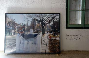 Adel Abdessemed, Lincoln, 2009, C-print, 127 x 174 cm - Au-delà du principe de plaisir - Rencontres Arles 2018