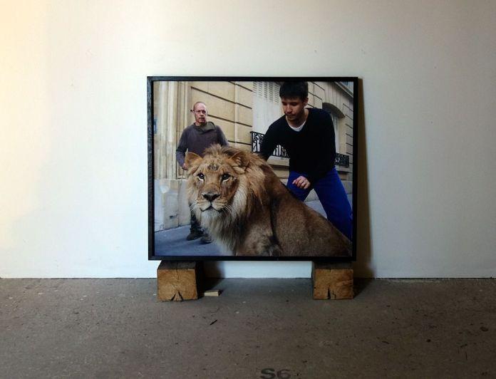 Adel Abdessemed, Séparation, 2005, C-print, 90 x 103 cm - Au-delà du principe de plaisir - Rencontres Arles 2018