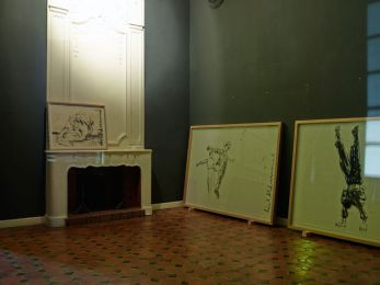 Adel Abdessemed, exposition « Jalousies – complicités avec Jean Nouvel » au Musée de Vence. Photo © Adel Abdessemed