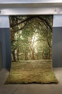 Alexandra Kehayoglou, Locus Amoenus, 2016 - Exposition Tissage - Tressage à la Villa Datris - Tisser le monde