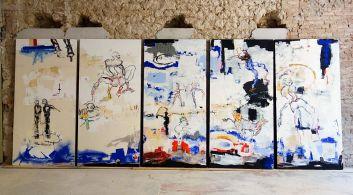 Dominique Zinkpè, La belle vie -Lettre ouverte à la Poste Colbert, Marseille