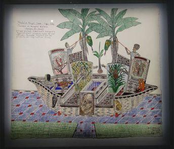 Gabriel Tegnoto, Meuble Royal Sawa Style Gaby, 2018 - Homo Planta à la Fondation Blachère, Apt
