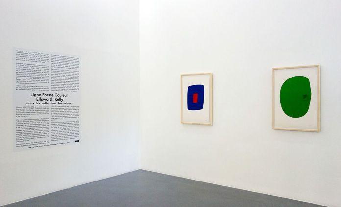 Ligne Forme Couleur - Ellsworth Kelly (1923-2015) dans les collections françaises à la Collection Lambert - Salle 01