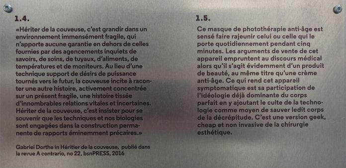 Matthieu Gafsou - H+ aux Rencontres Arles 2018 - 1 Prothèses -Cartels 1-4 et 1-5