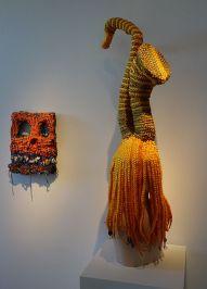 Meschac Gaba et Jacin Giordano - Exposition Tissage - Tressage à la Villa Datris - Identités textiles