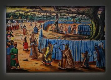 Tatgedes, Niang-niang, 2018 - Homo Planta à la Fondation Blachère, Apt