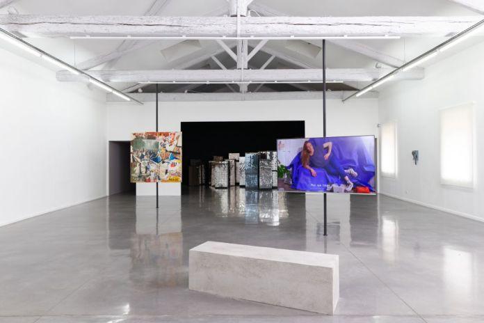 « La Complainte du progrès », vue de l'exposition au Mrac, Sérignan, 2018 - Photographie Aurélien Mole