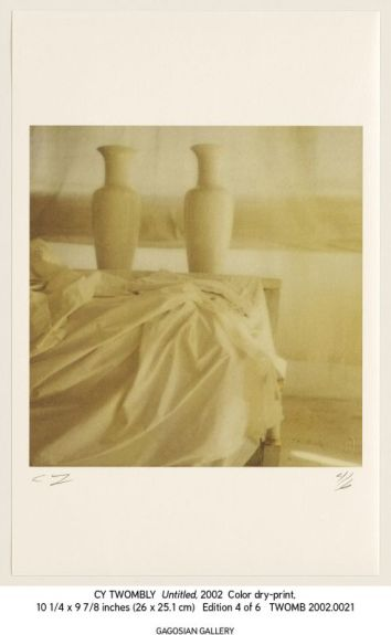Cy Twombly – Photographs