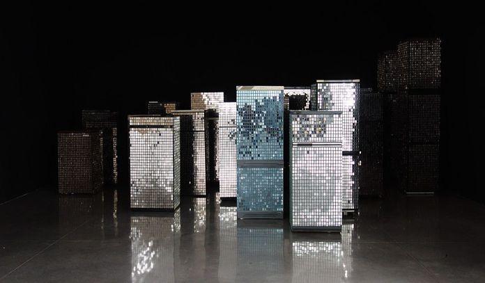 Kader Attian Untitled (Skyline), 2007 - La complainte du progrès au MRAC - Vue de l'exposition