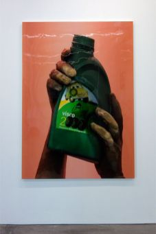 Lucie Stahl, Visco, 2000 - La complainte du progrès au MRAC - Vue de l'exposition.